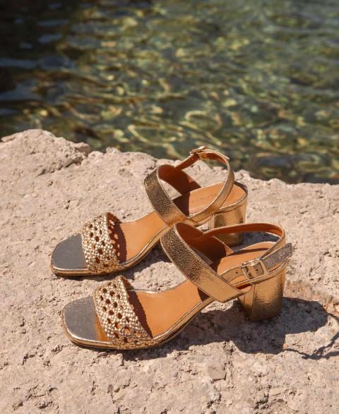 Sandals n°600 Gold