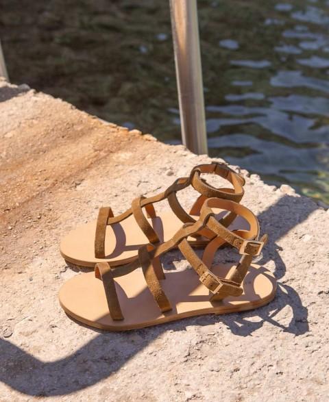 Sandals n°200 Ecorce