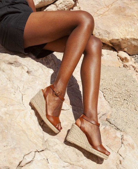 Wedges n°130 Cognac