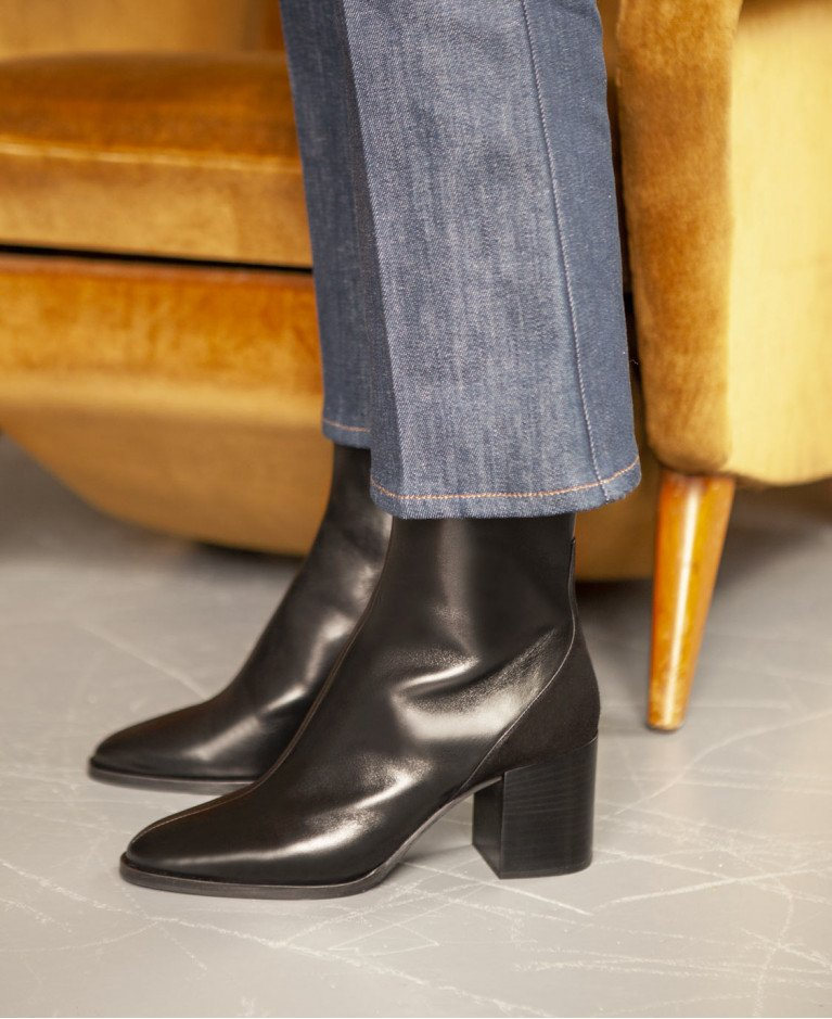 Bottines n°136 Noir