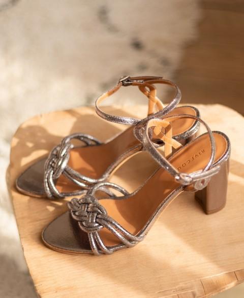 Sandals n°111 Silver