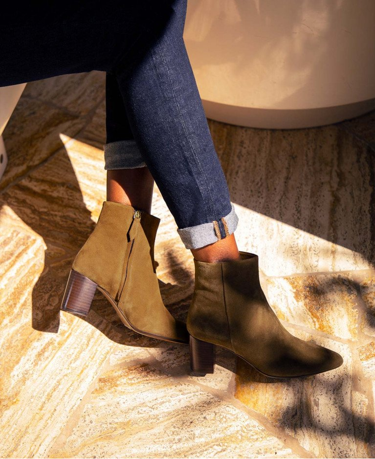 Boots n°107 Ecorce Suede| Rivecour