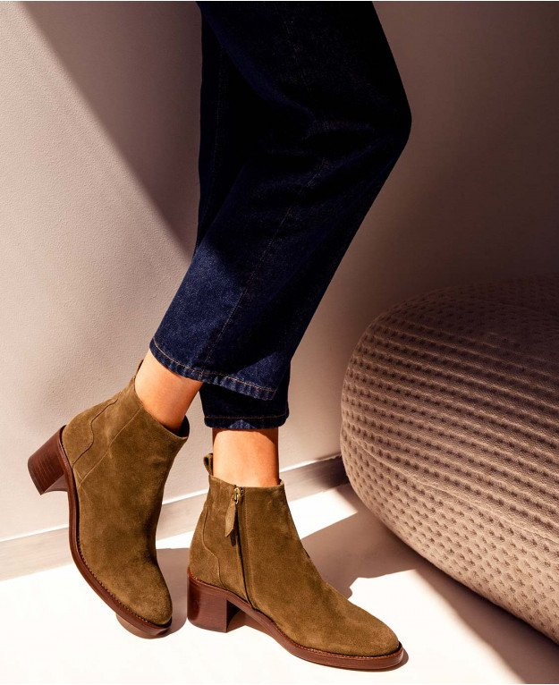 Boots n°286 Ecorce Suede| Rivecour