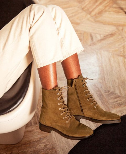 Boots n°499 Ecorce Suede| Rivecour