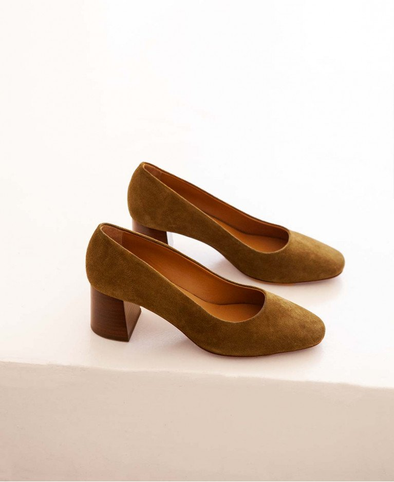 Babies n°590 Ecorce suede  Rivecour