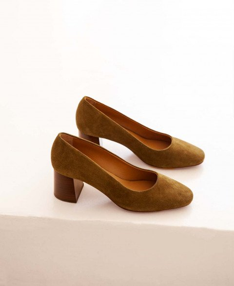 Babies n°590 Ecorce suede| Rivecour