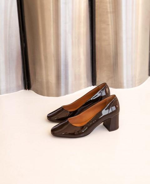Babies n°590 Borwn Leather| Rivecour