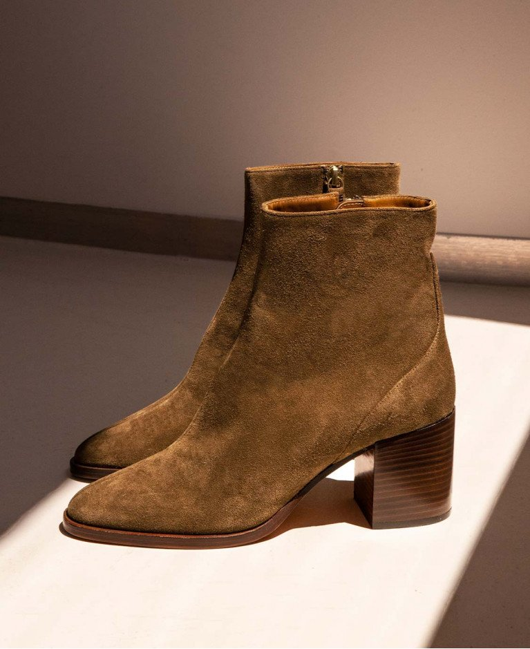 Boots n°660 Ecorce Suede| Rivecour