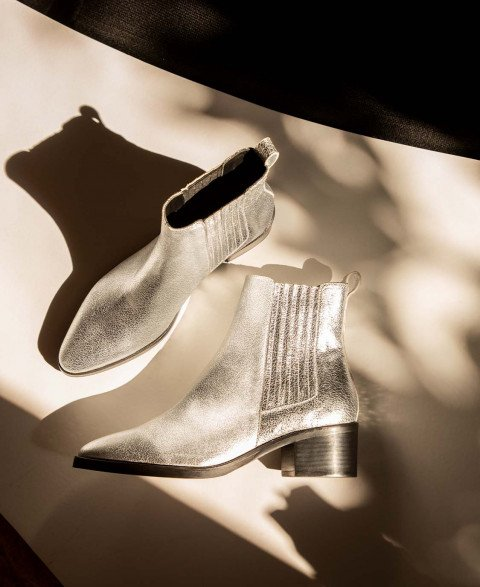 Boots n°408 Silver