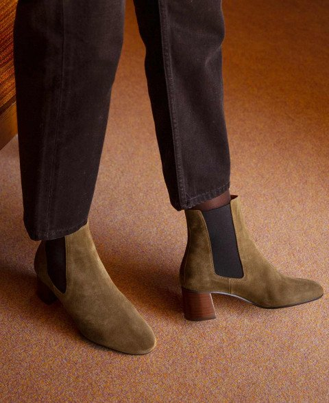 Boots n°402 Ecorce Suede| Rivecour