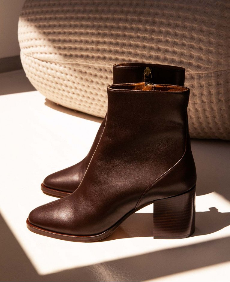 Boots n°660 Brown Leather| Rivecour