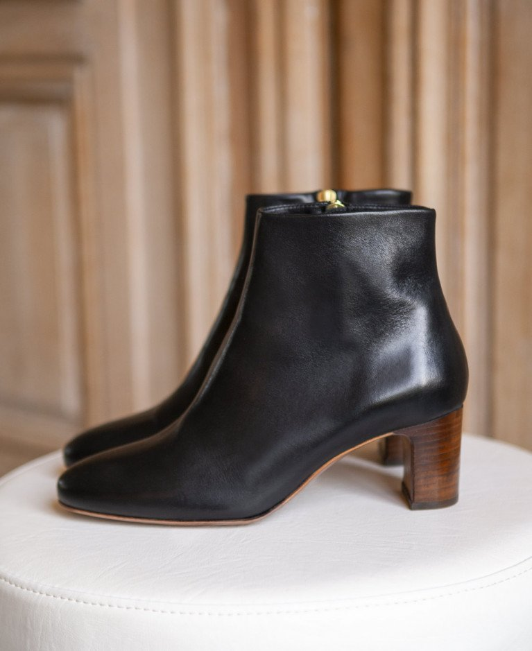 Boots n°290 Black Leather| Rivecour