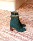 Boots n°92 Green Suede| Rivecour