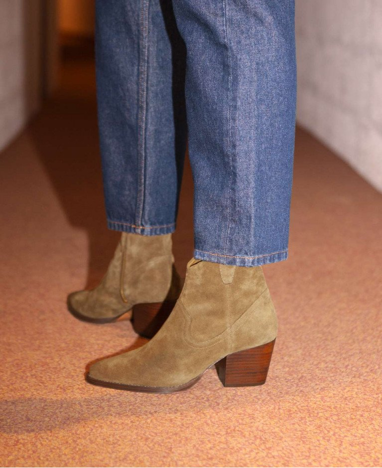 Boots n°704 Ecorce Suede| Rivecour