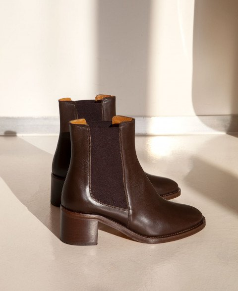 Boots n°289 Brown Leather| Rivecour