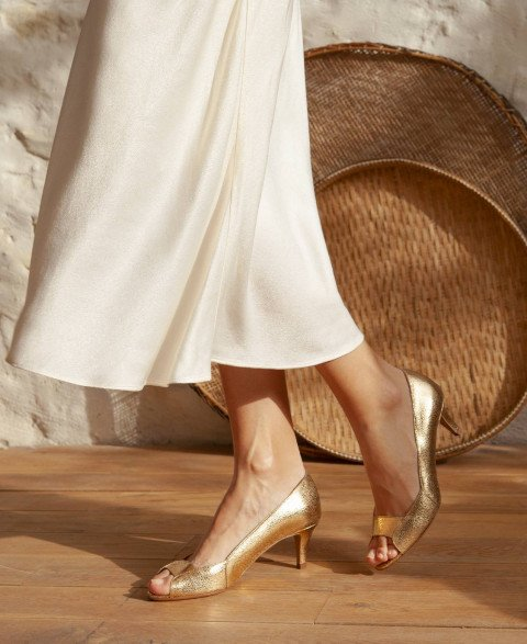 Pumps n°77 Gold