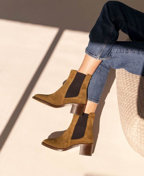 Boots n°289 Ecorce Suede| Rivecour