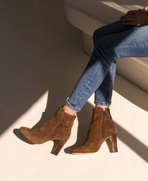 Boots n°89 Noisette Suede| Rivecour