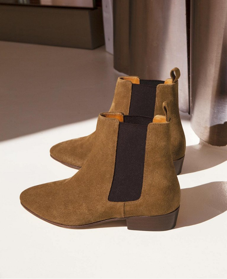 Boots n°66 Ecorce Suede | Rivecour