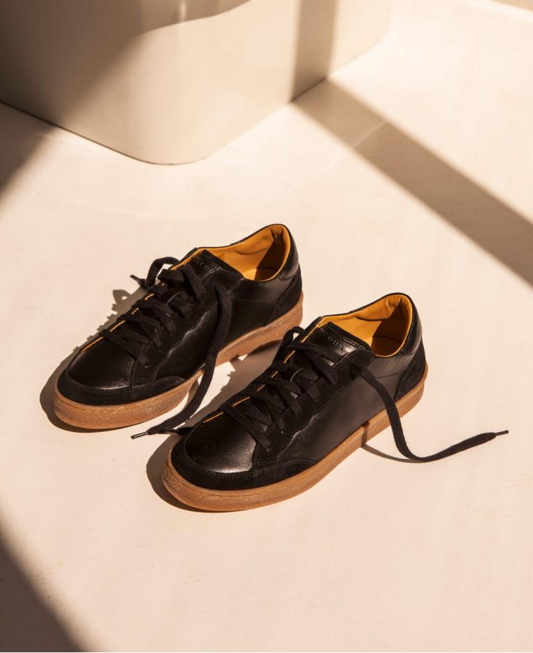 Sneakers n°14 Black  Rivecour