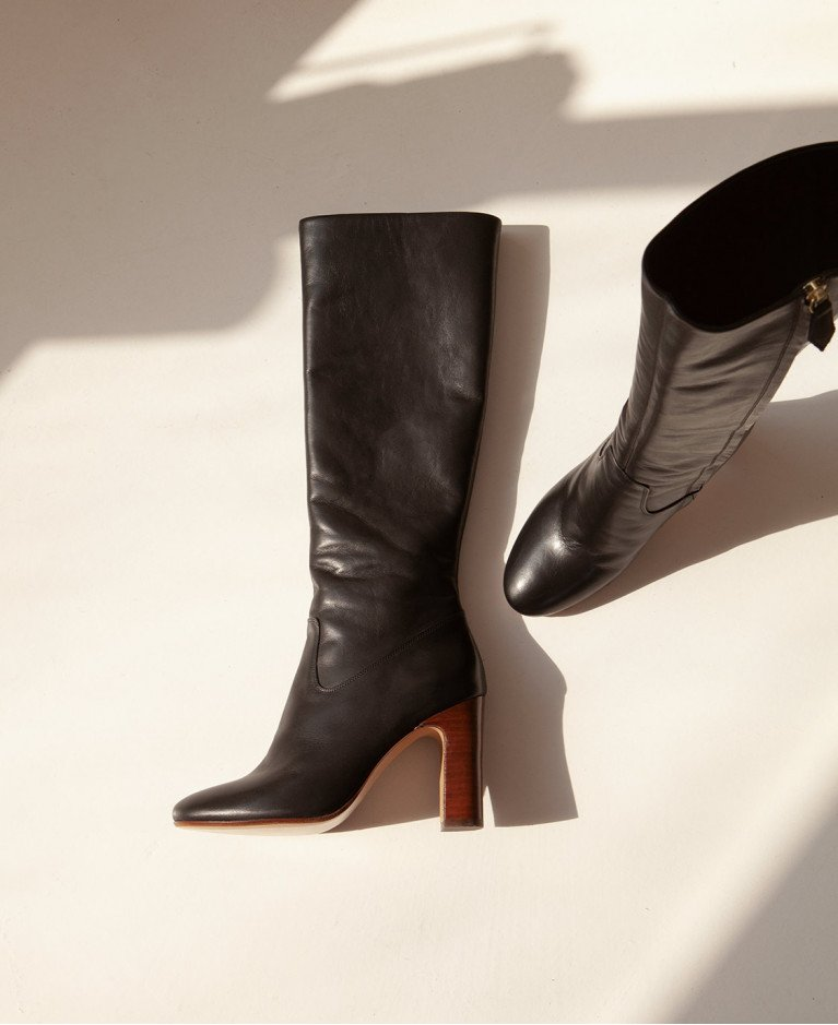 Boots n°91 Black Leather| Rivecour