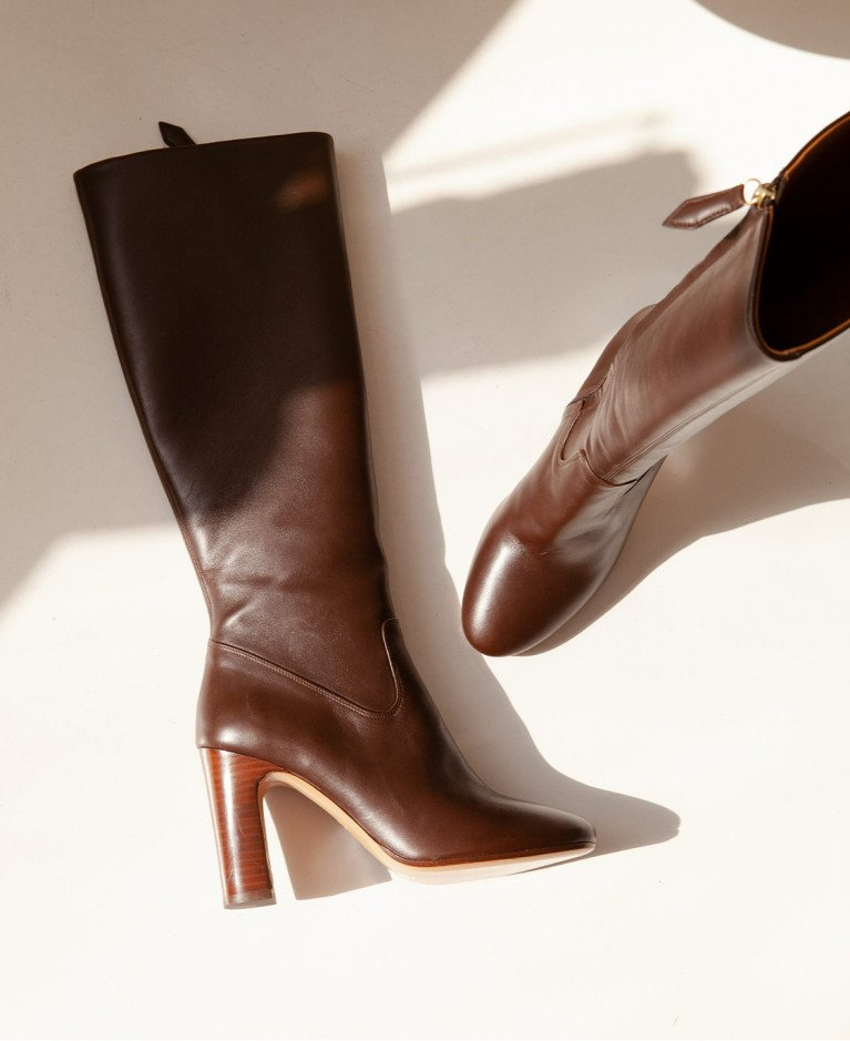 Boots n°91 Brown Leather| Rivecour