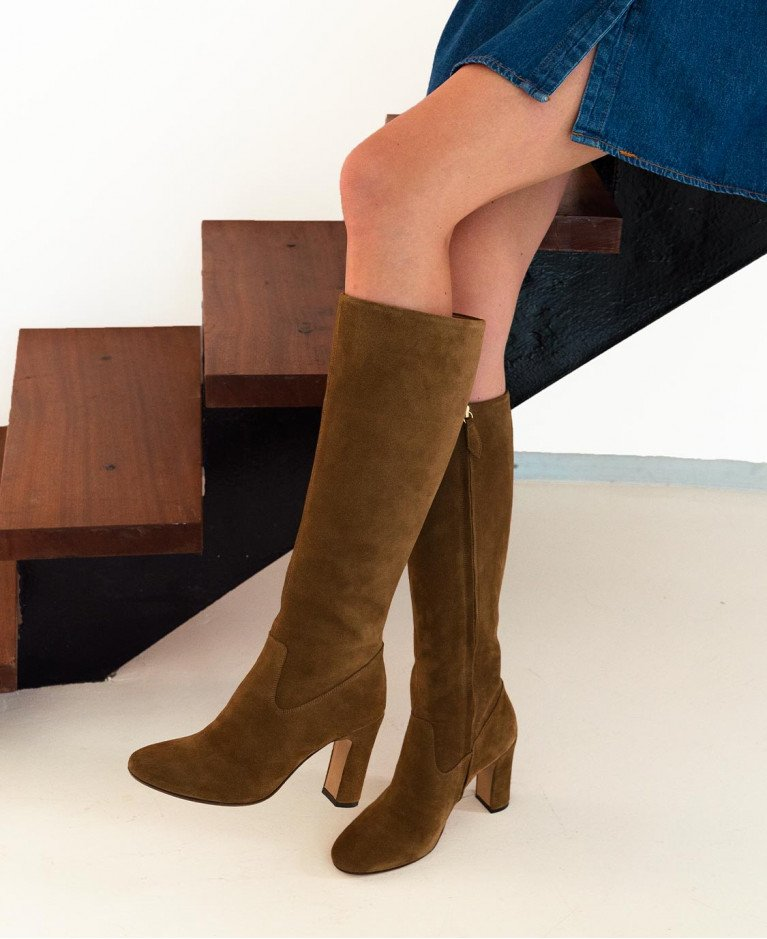 Boots n°91 Ecorce suede| Rivecour
