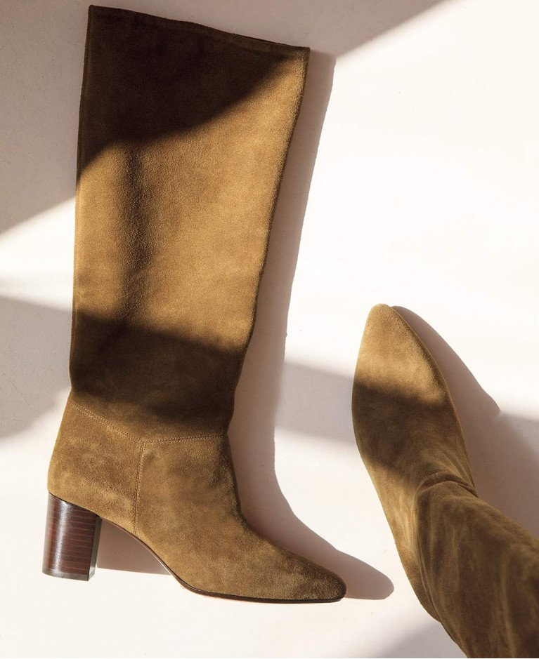 Boots n°108 Ecorce Suede| Rivecour