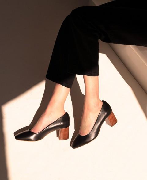 Babies n°590 Black Leather| Rivecour