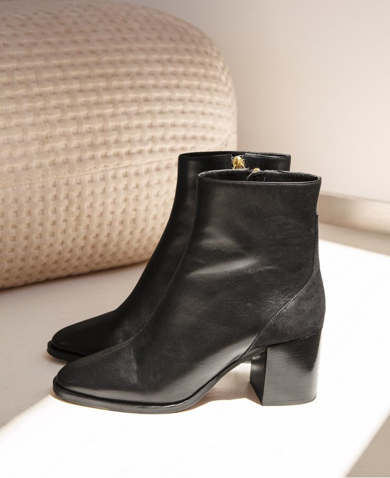 Boots n°660 Black Leather| Rivecour