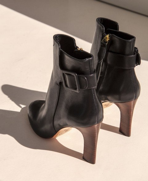 Boots n°89 Black Leather| Rivecour