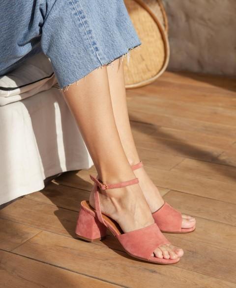 Sandals n°889 Blush