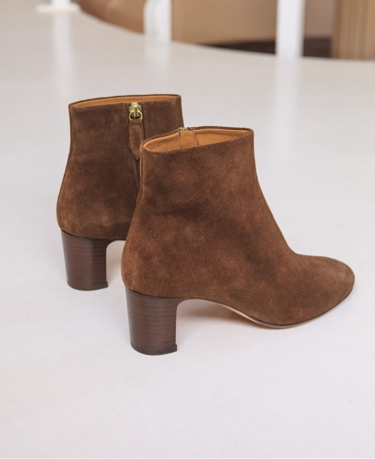 Boots n°290 Hazel Suede| Rivecour