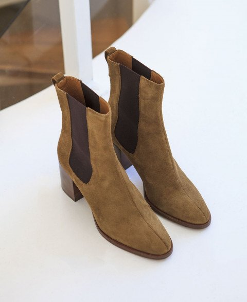 Boots n°663 Ecorce suede | Rivecour
