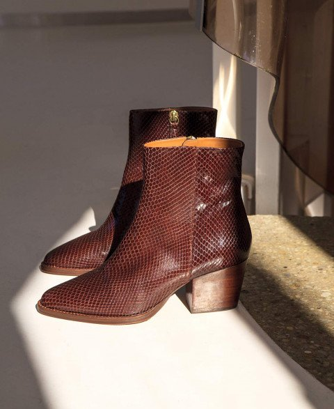 Bottines n°700 Ecorce