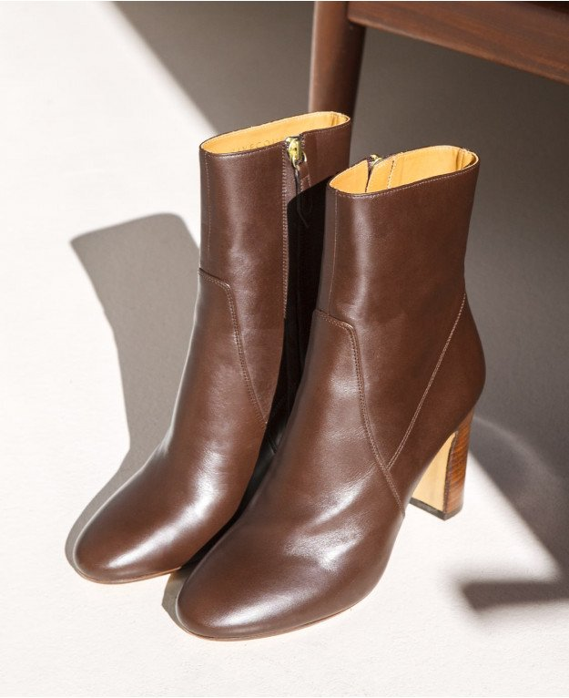 Boots n°92 Brown Leather| Rivecour