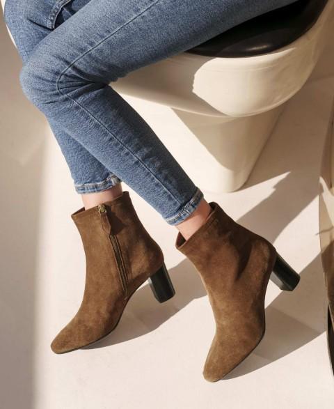 Boots n°241 Hazel Suede | Rivecour