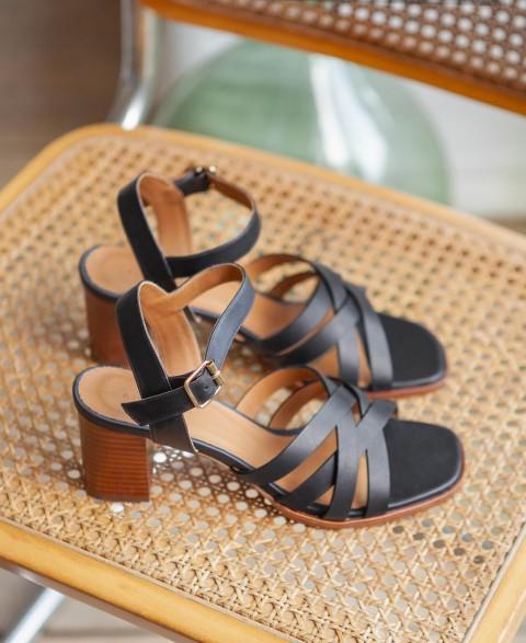 Sandales n°888 Noir