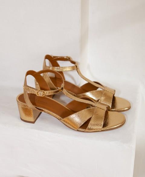Sandals n°452 Gold