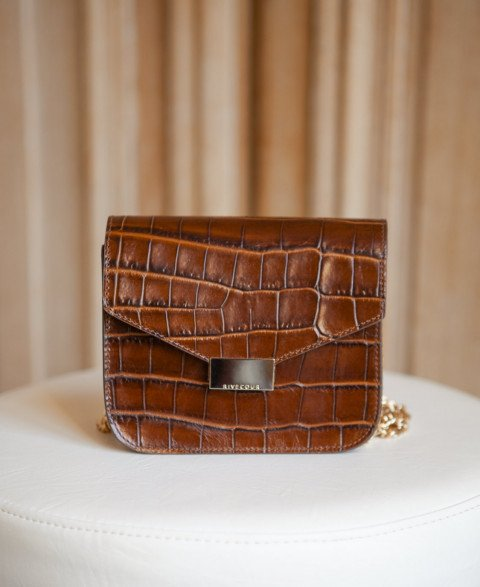 Bag n°903 Brown Croco