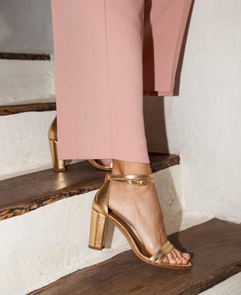 Sandals n°853 Gold