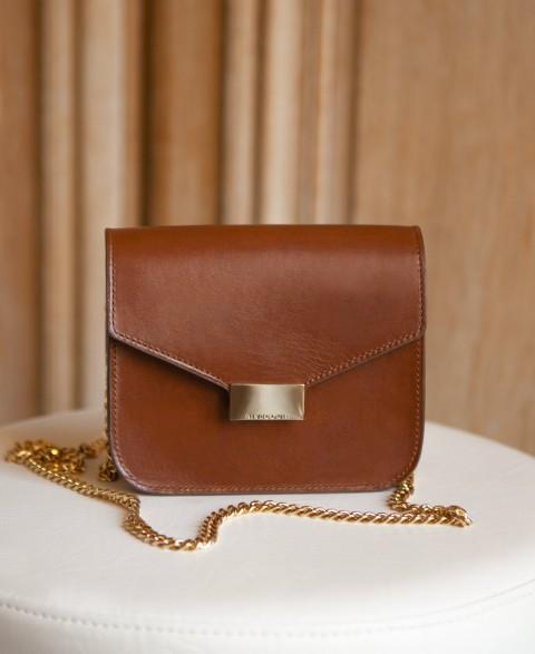 Bag n°903 Cognac Leather | Rivecour