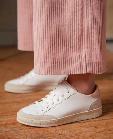 Sneakers n°14 White/Nude