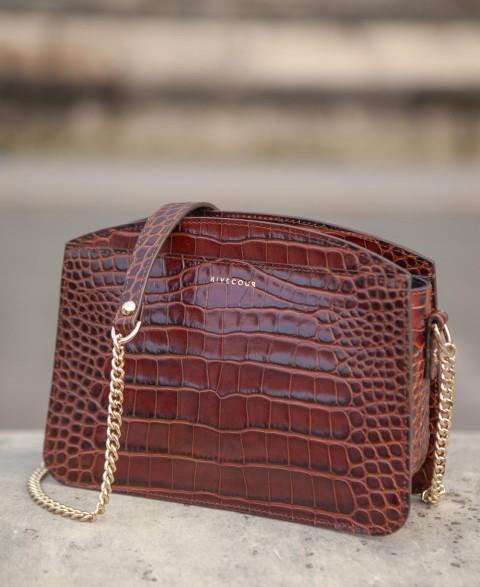 Bag n°420 Brown Croco