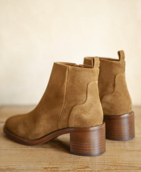 Boots n°286 Ecorce