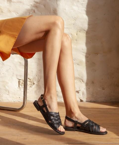 Sandals n°63 Black