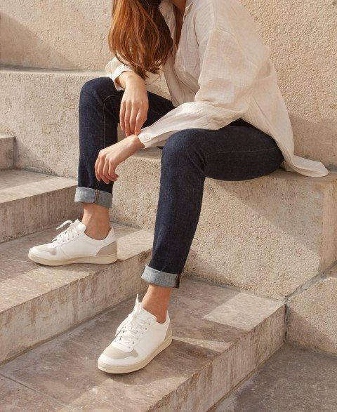 Sneakers n°12 White Vegan