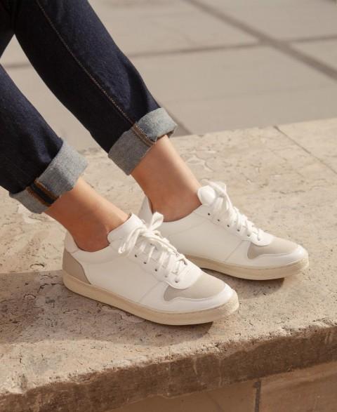 Sneakers n°12 White Vegan