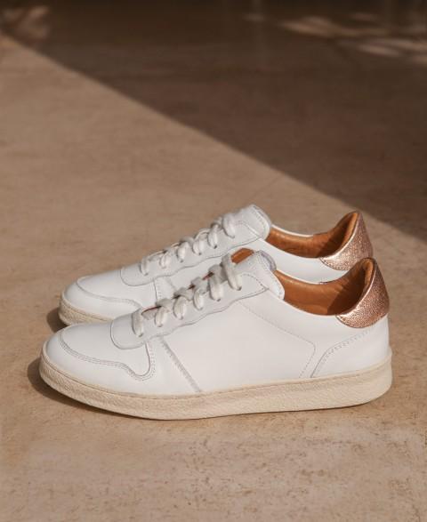 Sneakers n°12 White/Metal