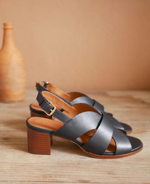 Sandales n°551 Noir
